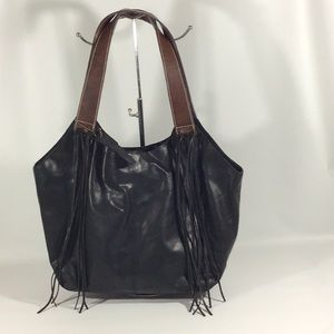 NINO BOSSI GENUINE LEATHER HANDBAG